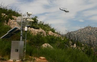 Dos Picos Wildland Fire Drill