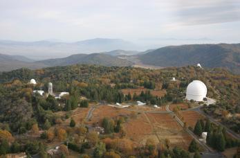 Palomar Observatory aerial