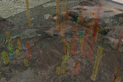 Googleearth met data visualization