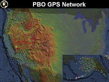 PBO GPS network